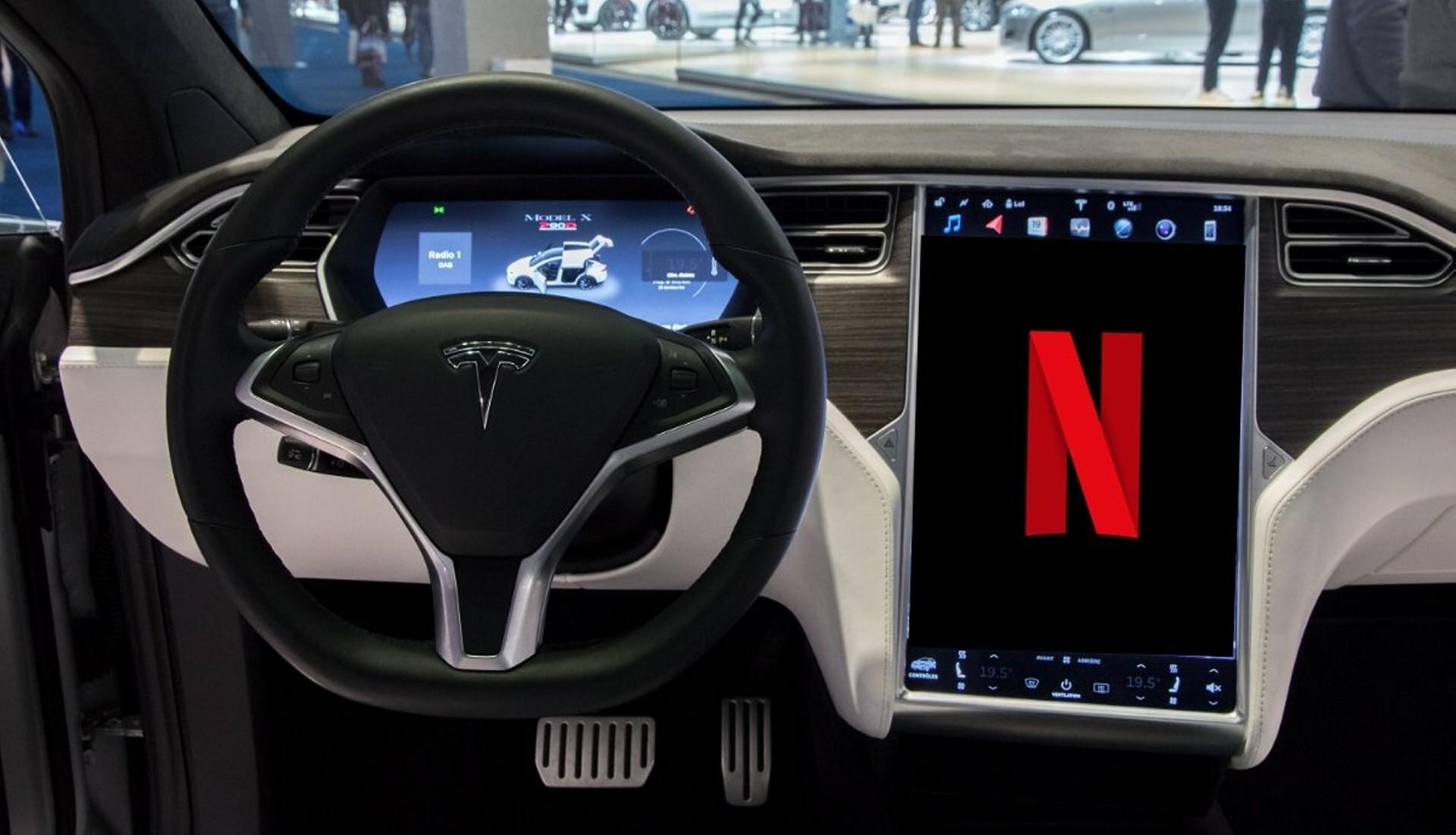 Tesla-Netflix-Streaming