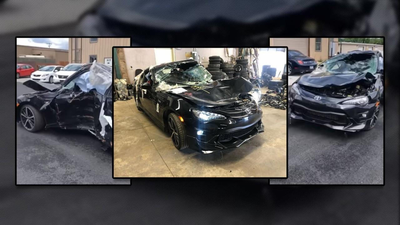 Toyota GT86 Accidentado