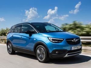 Opel Crossland X Ecotec D  2017