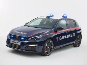 Peugeot 308 GTI Carabinieri  2017