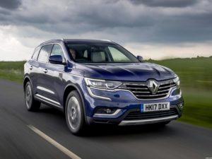 Renault Koleos UK  2017