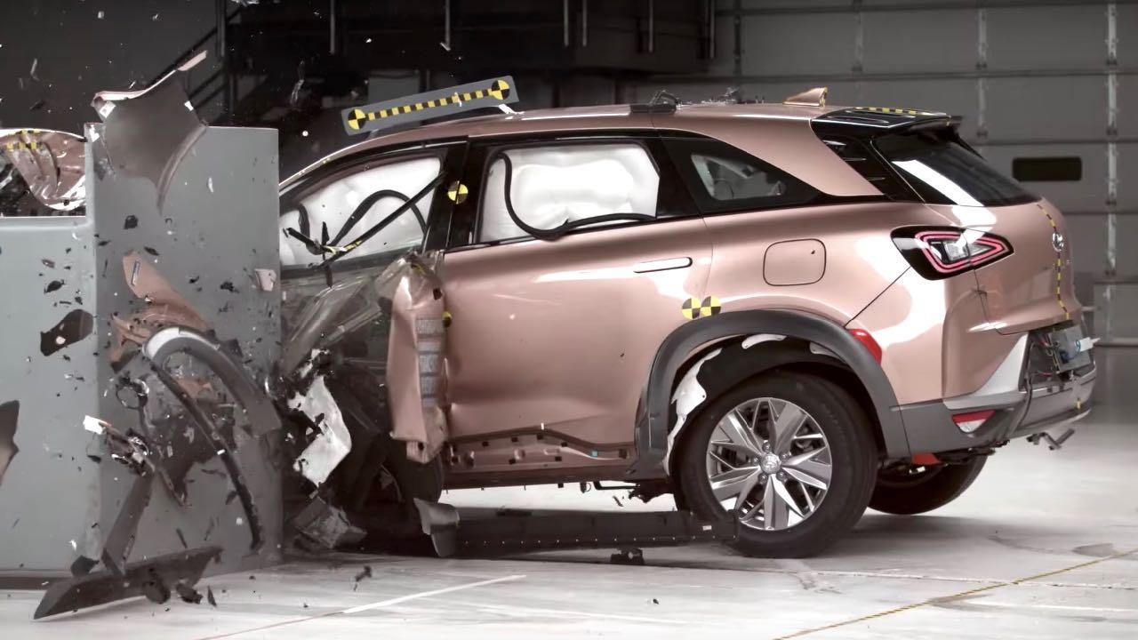 Hyundai Nexo prueba choque – 1