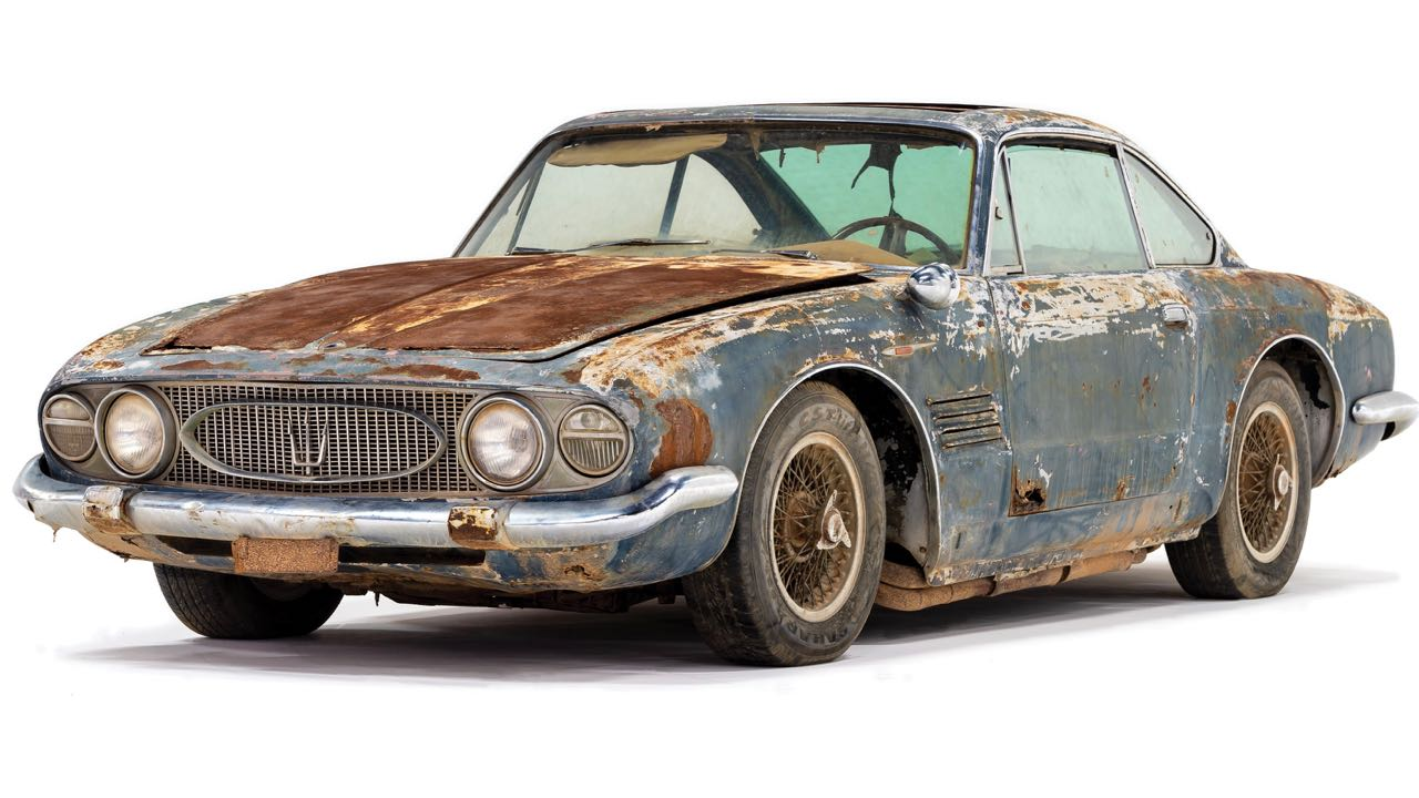 Maserati 5000 GT Coupe by Ghia 1961 – 1