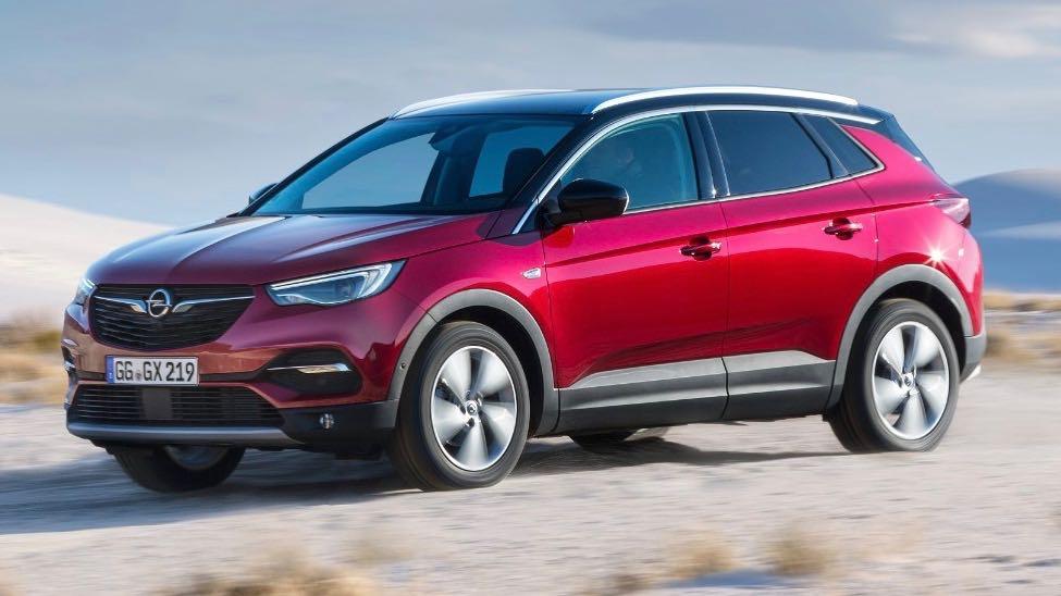Opel Grandland X with IntelliGrip