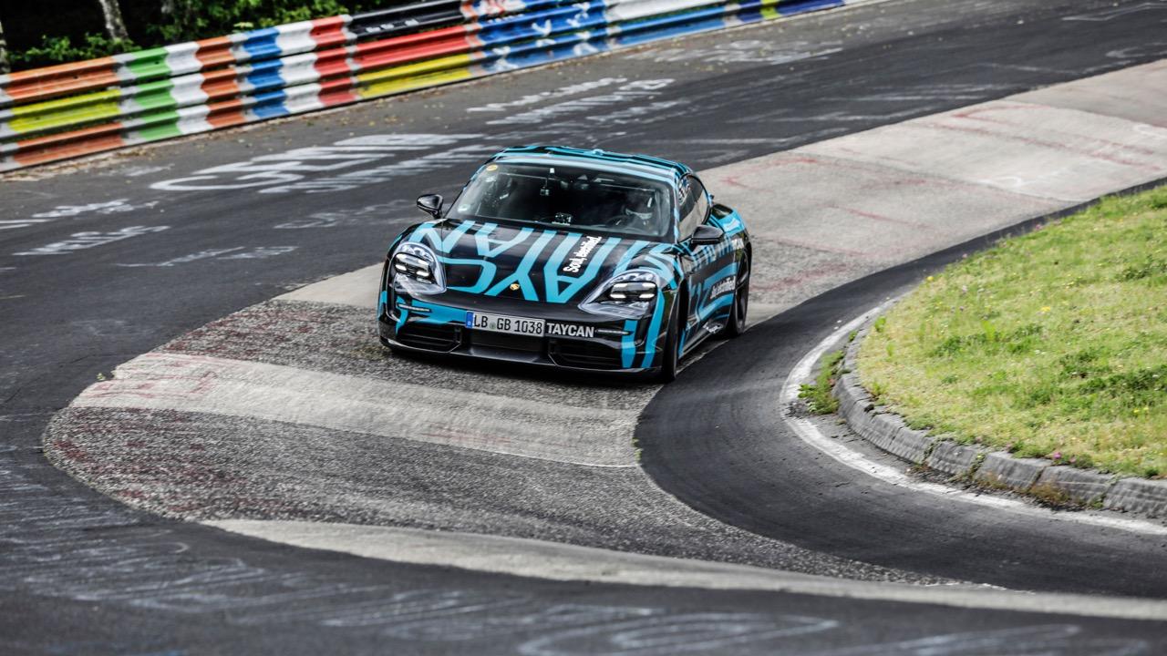 Porsche Taycan Nurburgring – 2