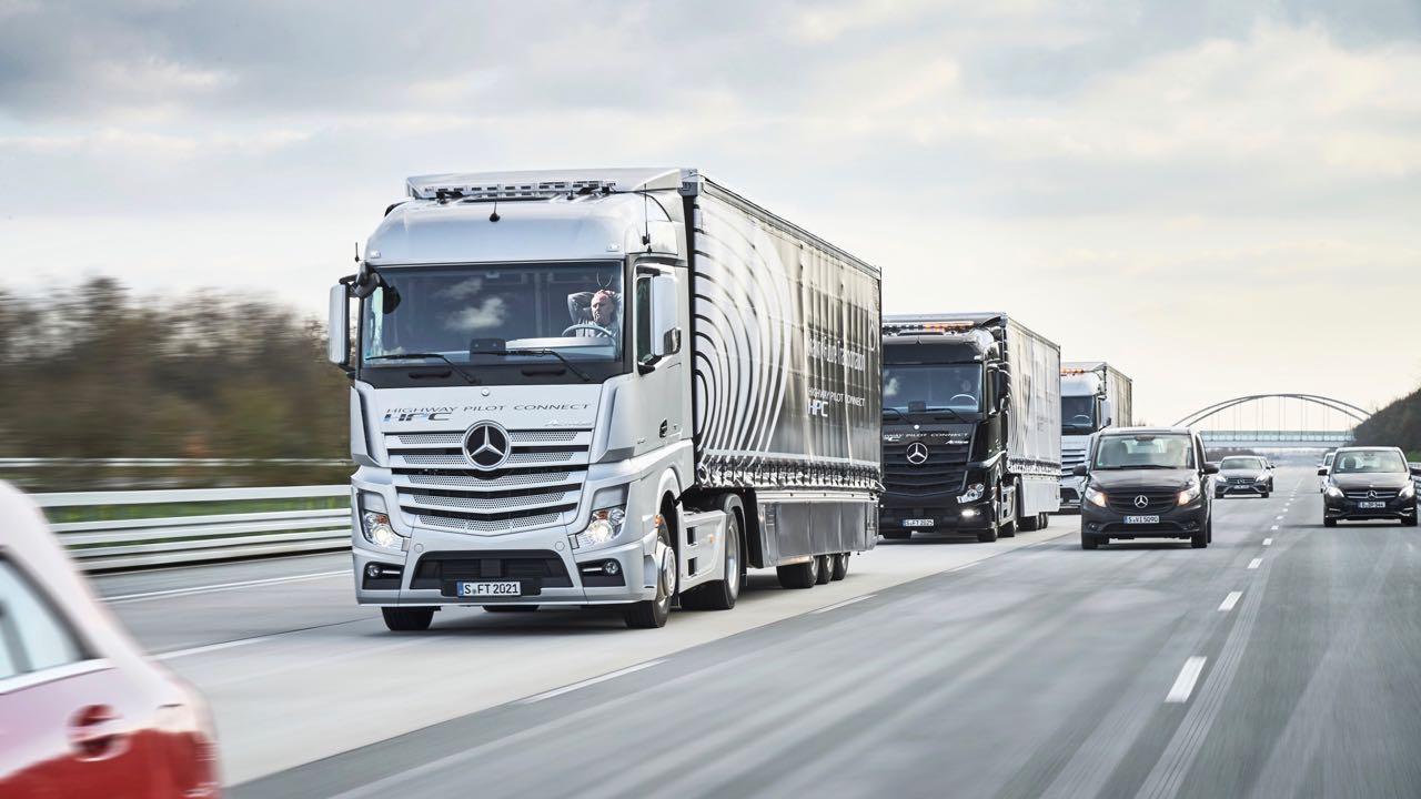 tren camiones Daimler