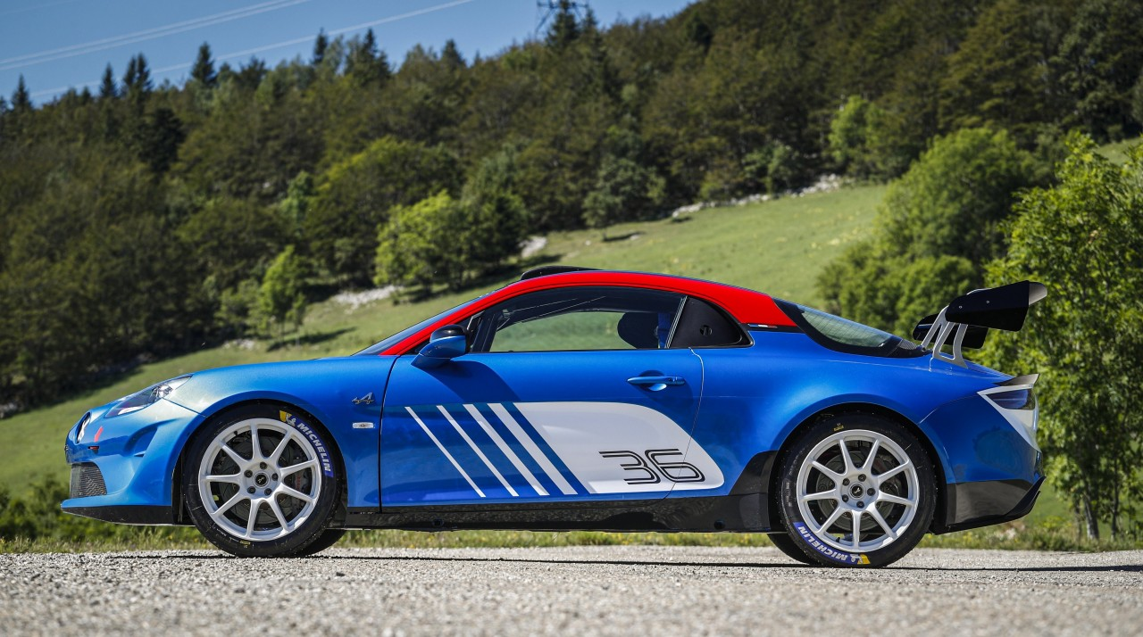 2019 – ALPINE A110 RALLY