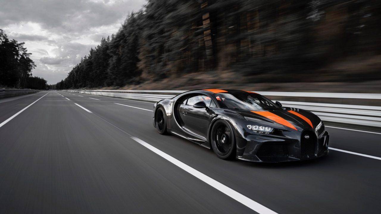 Bugatti Chiron record – 1