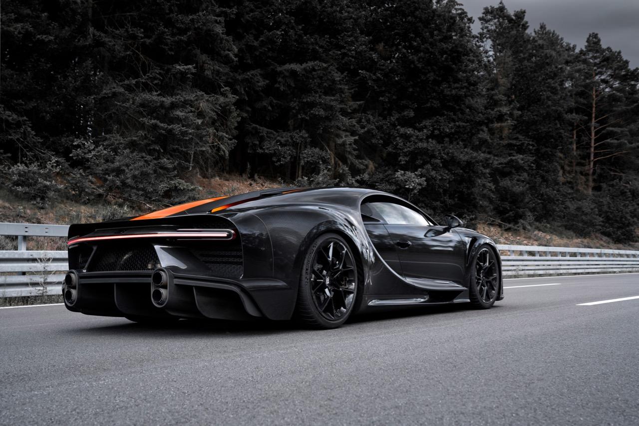 Bugatti Chiron record – 3
