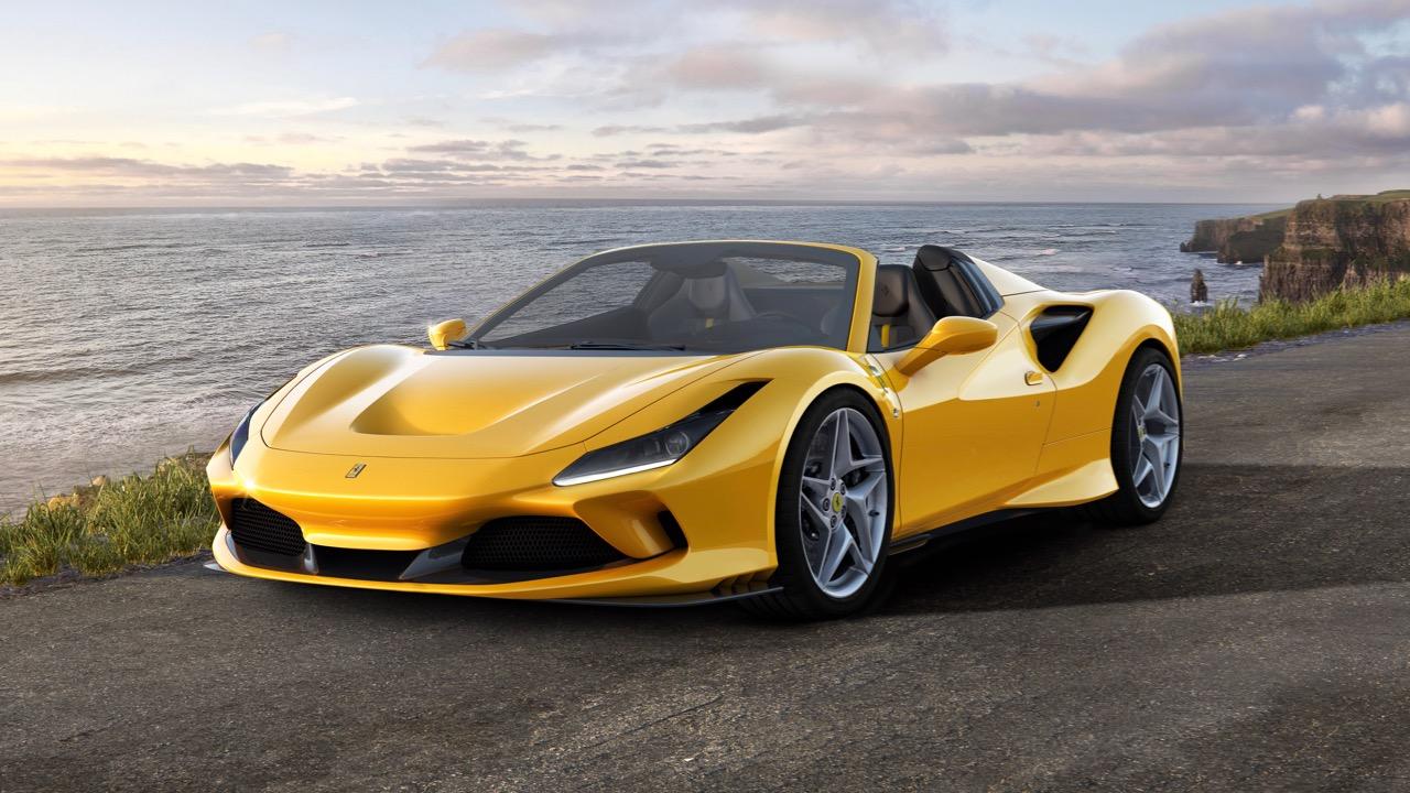 Ferrari F8 Spider 2020 – 2
