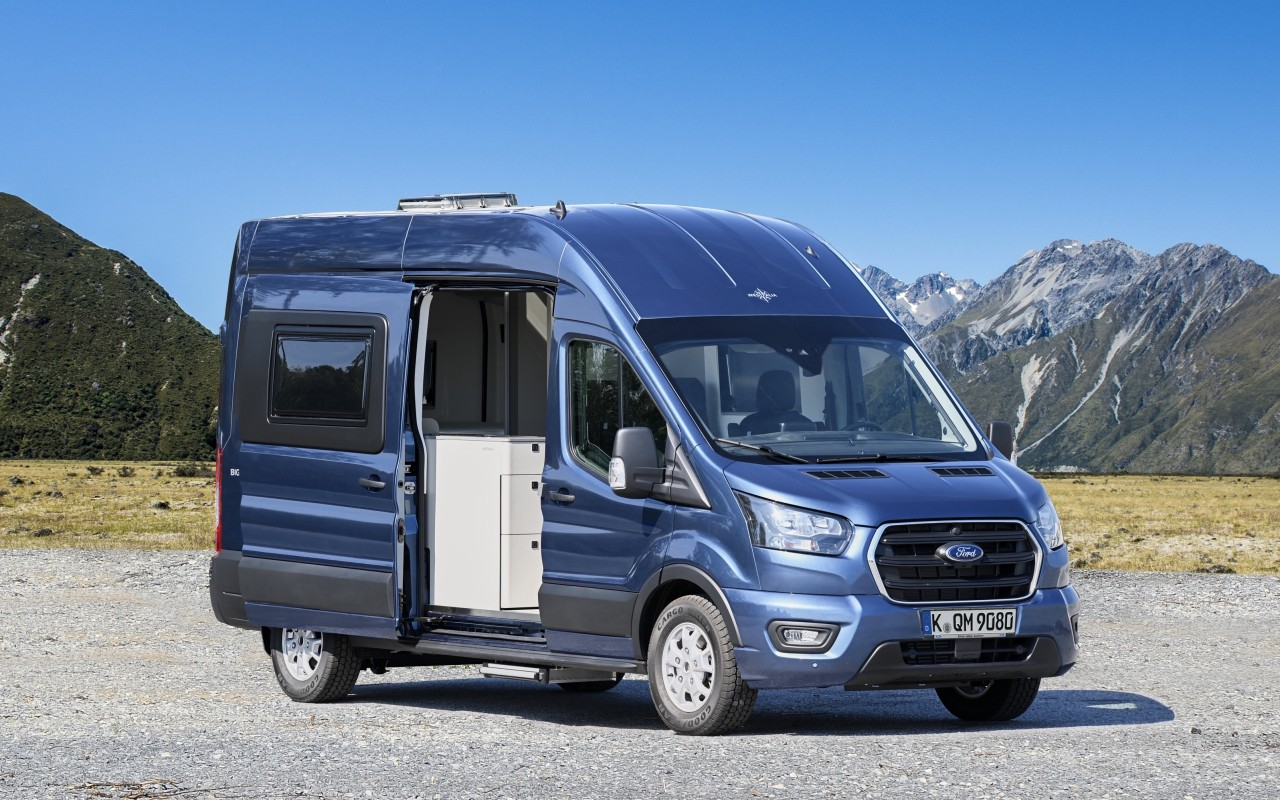 Ford Reveals New Big Nugget Concept Campervan