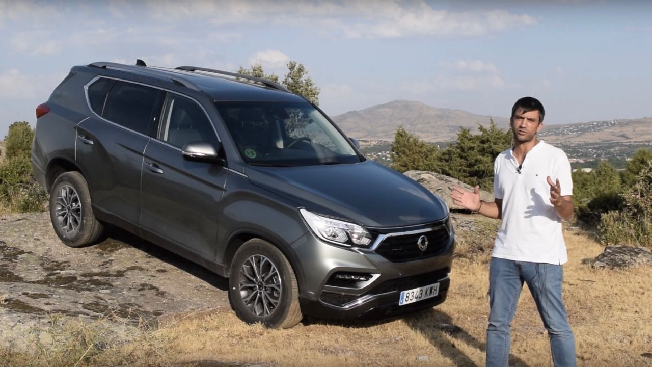 SsangYong Rexton video – 1