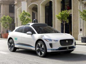 Jaguar I-Pace EV400 Waymo Self Driving Vehicle 2018