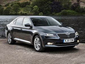 Skoda Superb UK 2015