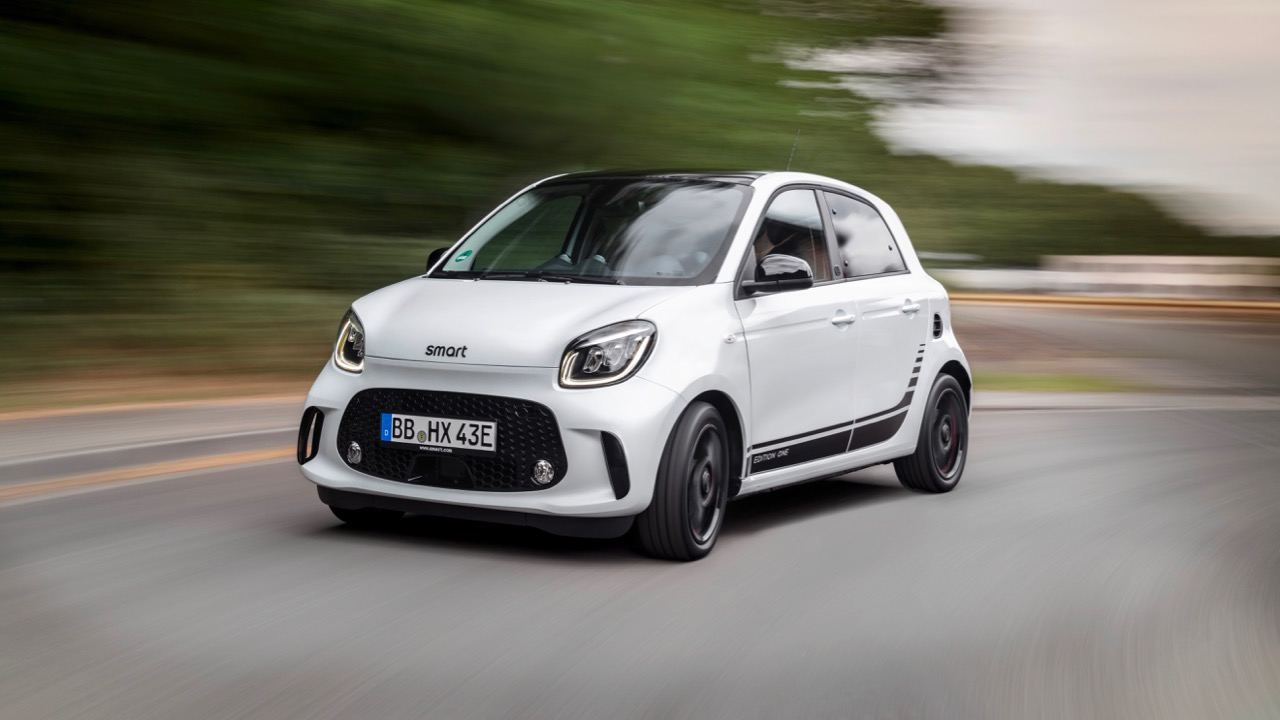 Die neue Generation: smart EQ forfourThe new generation: smart EQ forfour