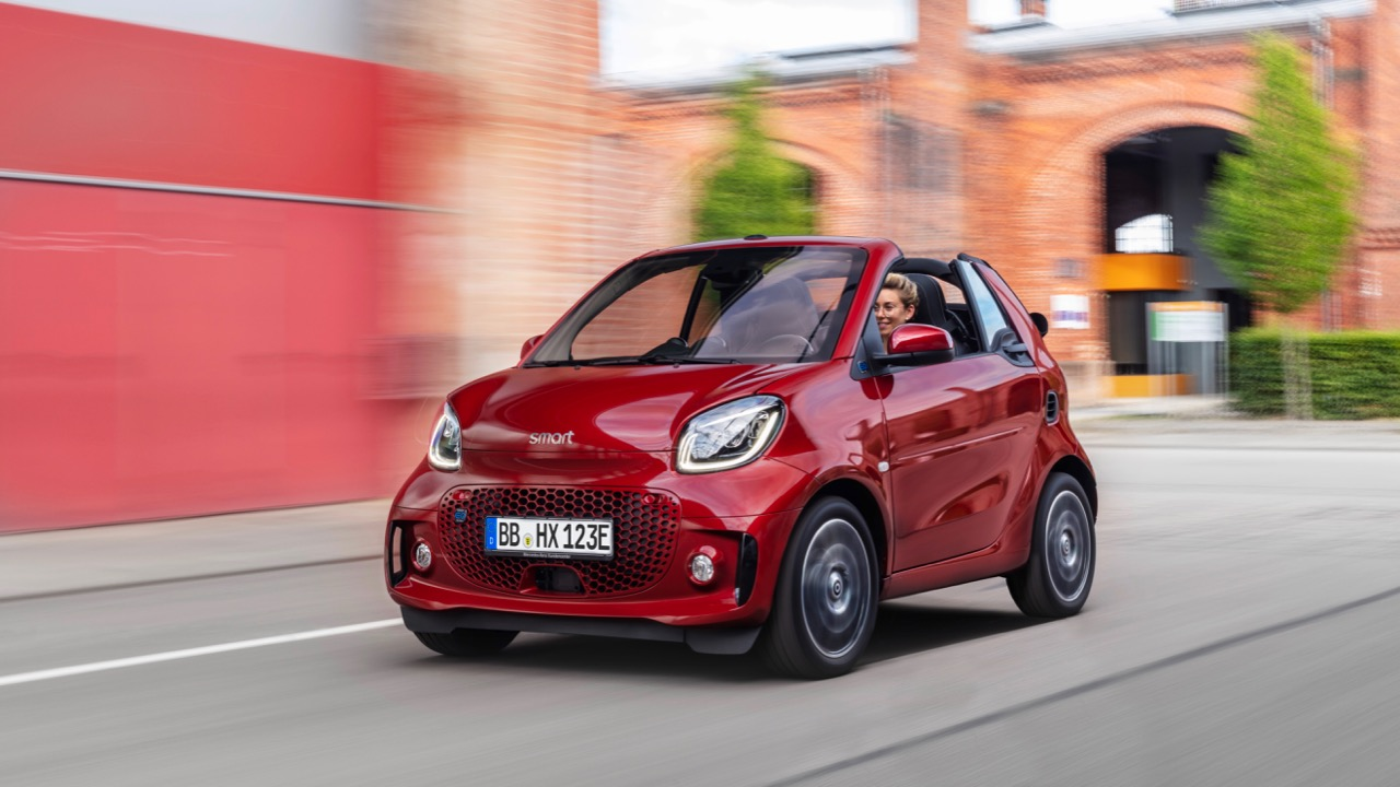 Die neue Generation: smart EQ fortwo cabrioThe new generation: smart EQ fortwo cabrio