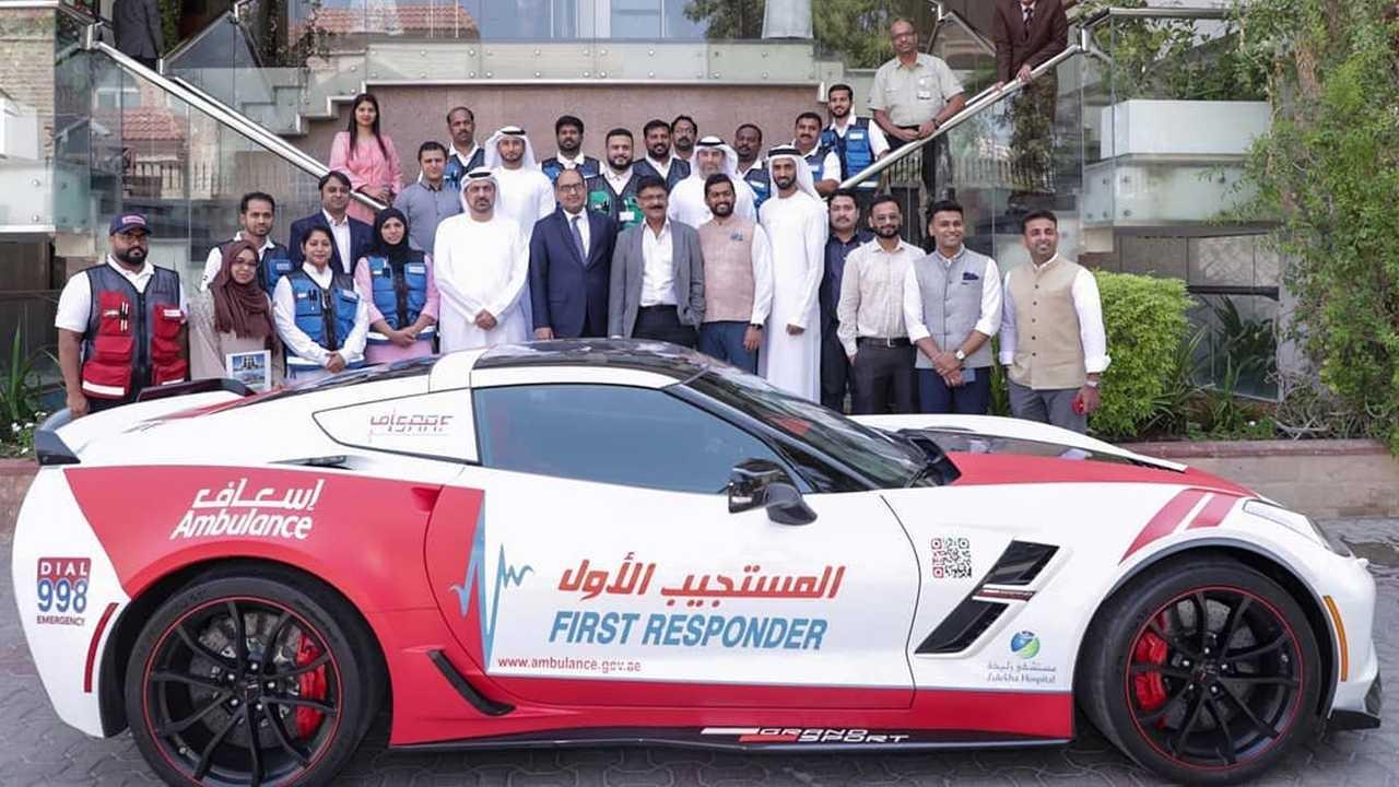 Ambulancia Dubai Corvette