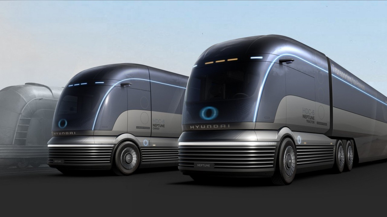Hyundai HDC-6 Neptune: un camión de otro mundo