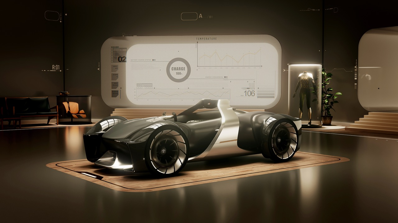 Toyota e-Racer – 5