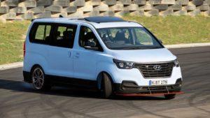 Hyundai iMax N Drift Bus: haciendo drifting aunque no pareciera posible