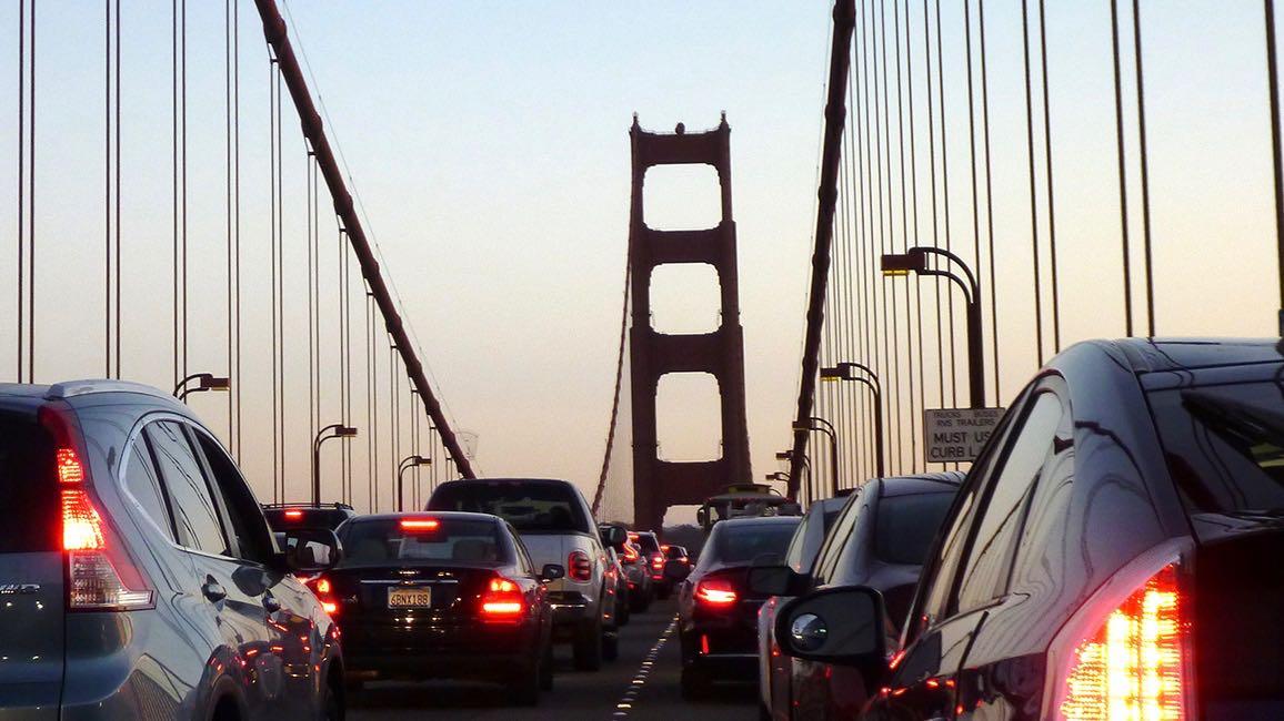 trafico puente Golden Gate San Francisco – 1