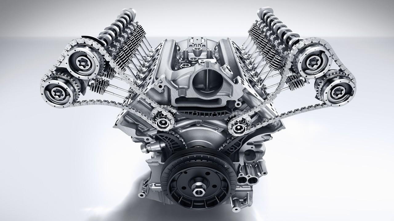 2017 Mercedes-AMG E 63 S – Motor