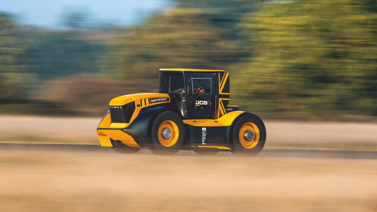 JCB Fastrac – Tractor mas rapido del mundo (7)