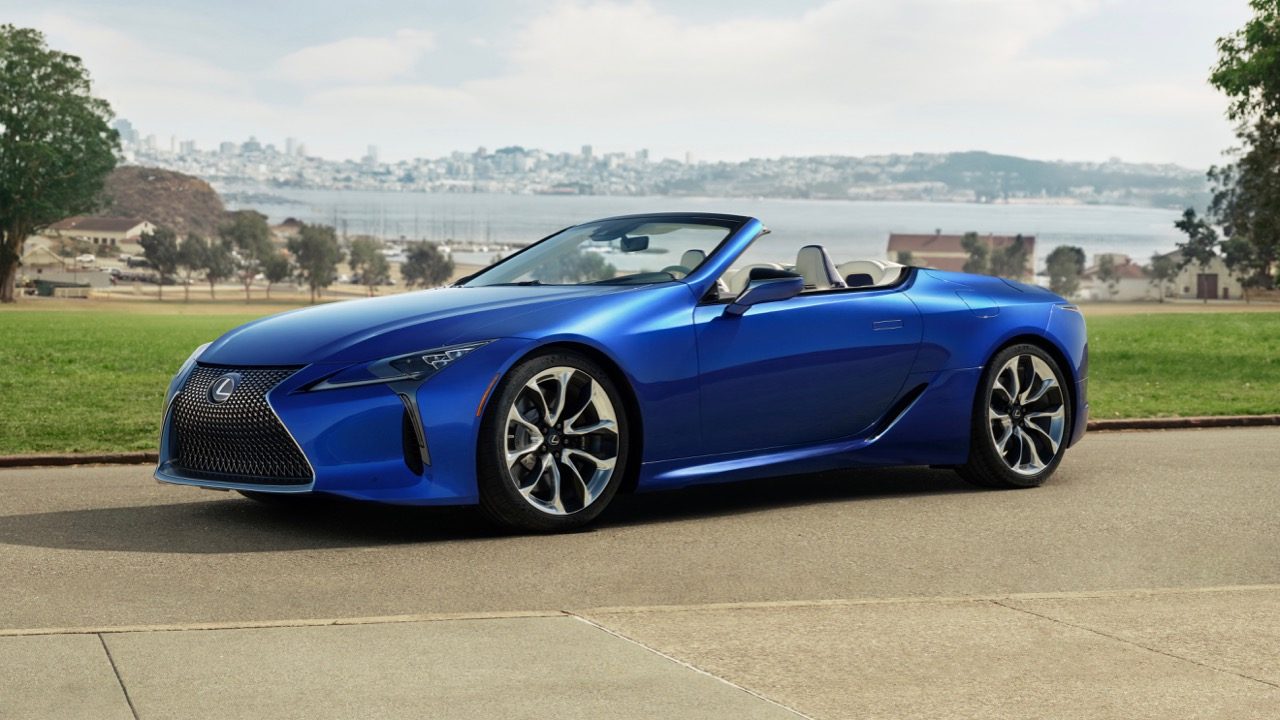 Lexus LC Convertible 2020 – 76