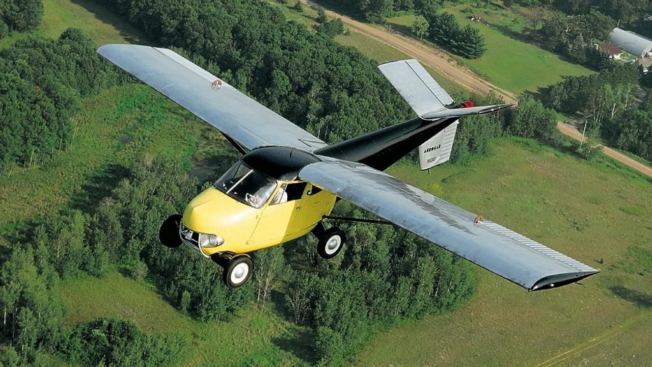 1954 Taylor Aerocar – Coche Volador (11)