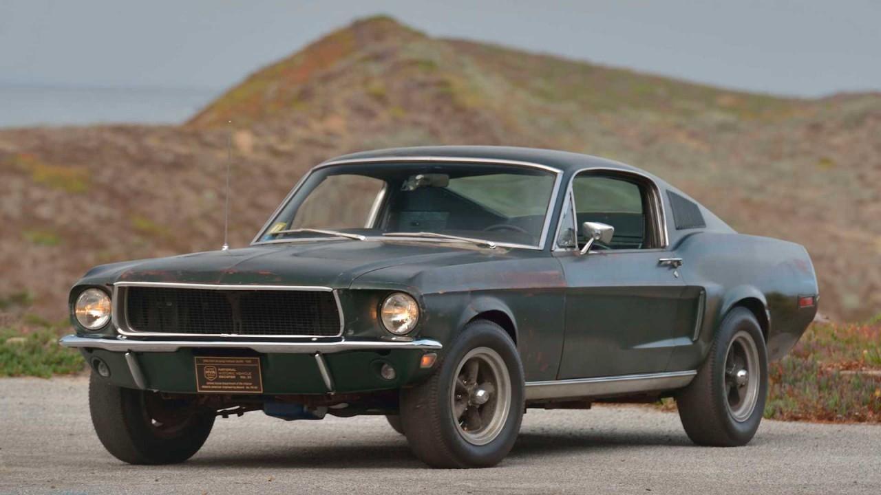 1968 Ford Mustang GT Fastback Bullitt (1)