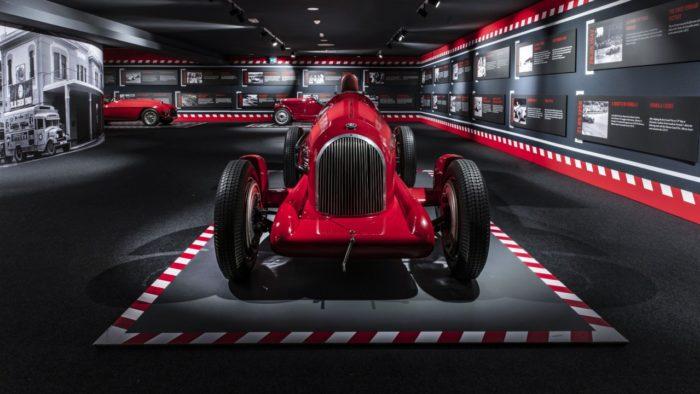 Alfa Romeo Tipo B P3, el primer coche que lució el escudo del cavallino rampante (Imagen: Museo Ferrari)