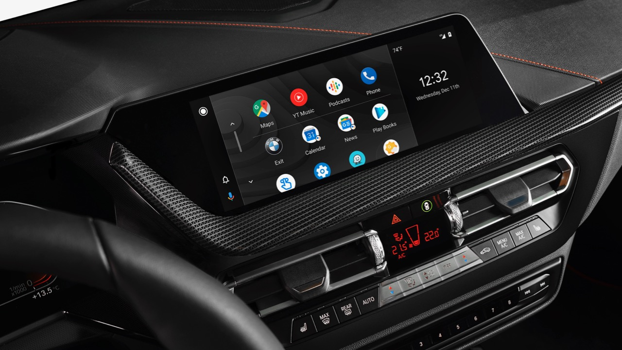 BMW Android Auto – 1