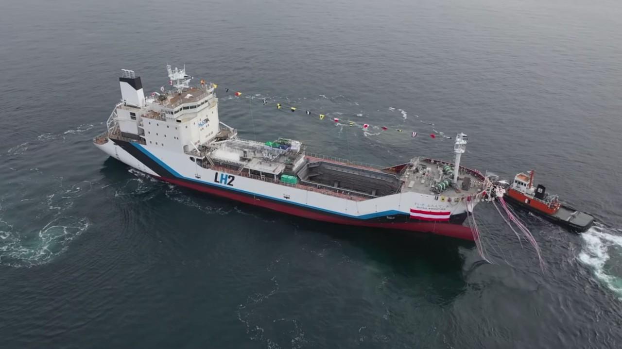 Kawasaki barco de hidrogeno (4)
