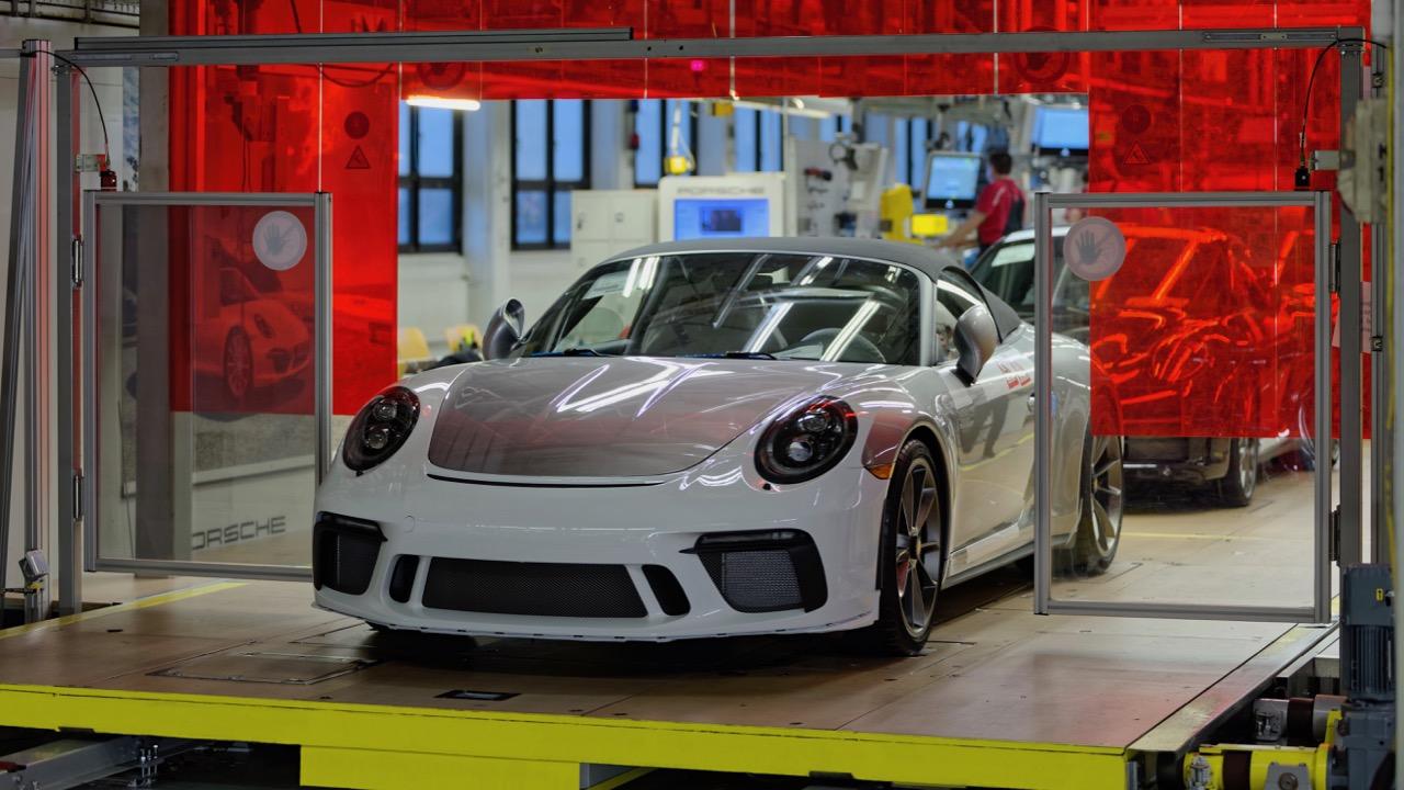 Porsche 911 991 Speedster – 1