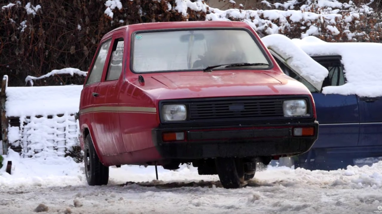 Reliant Robin Drift Nieve