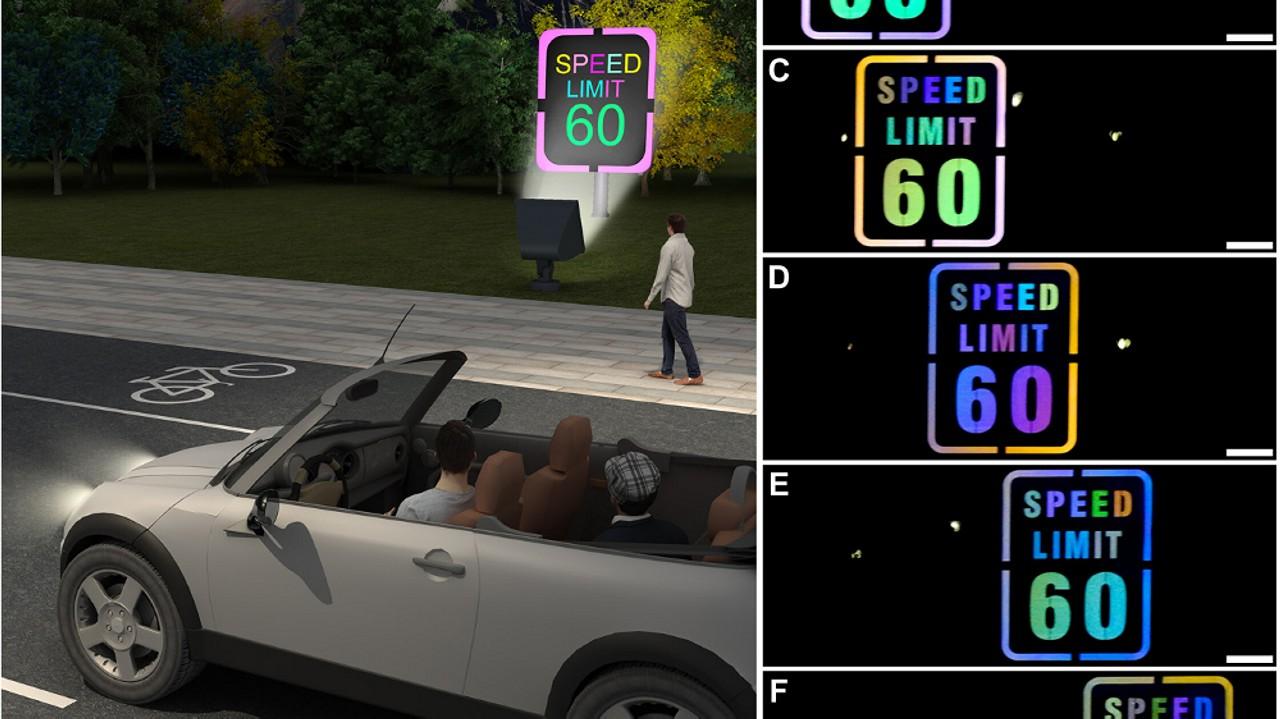 Senal de trafico luminosa 01