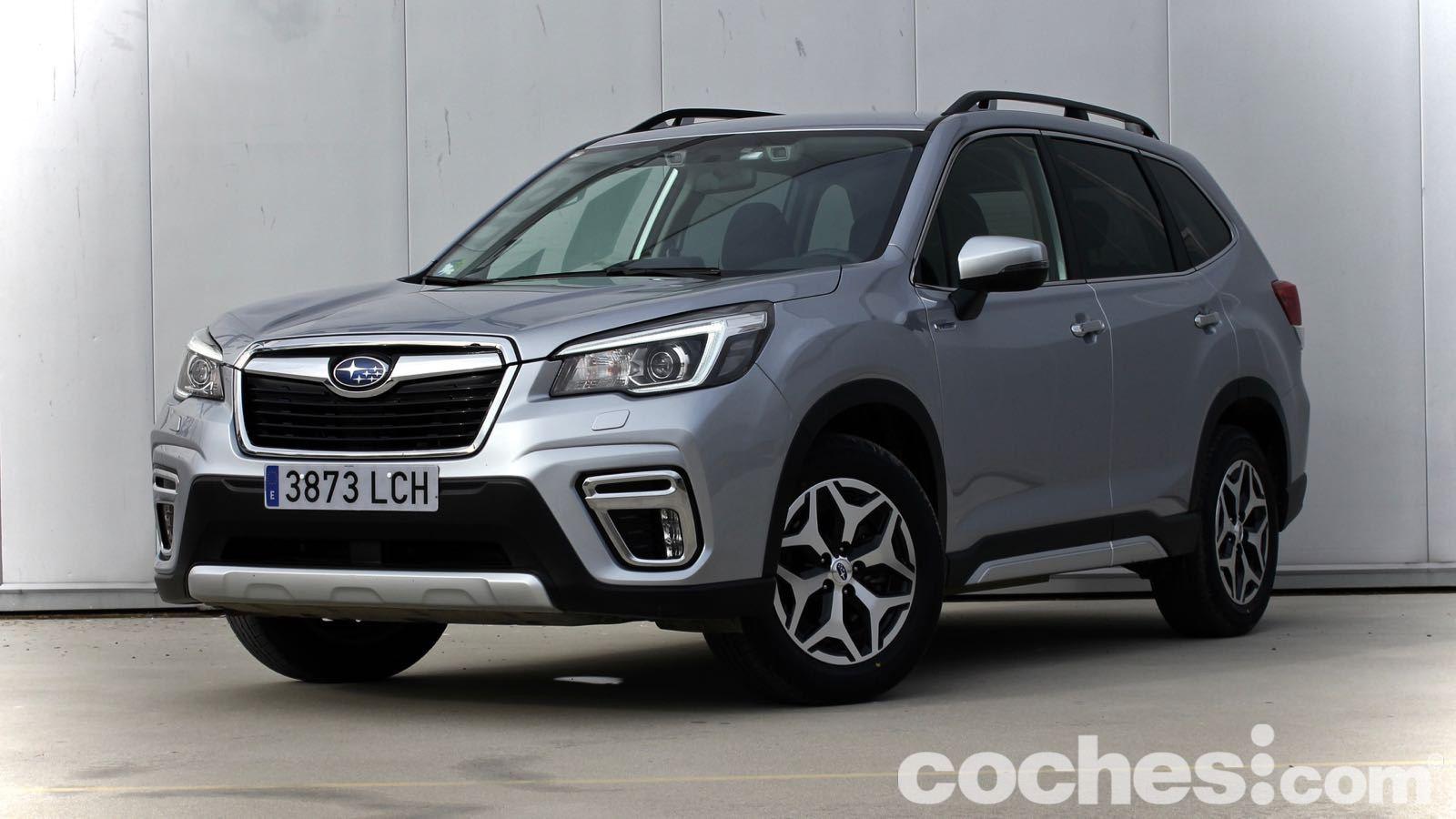 Subaru Forester hybrid prueba – 1