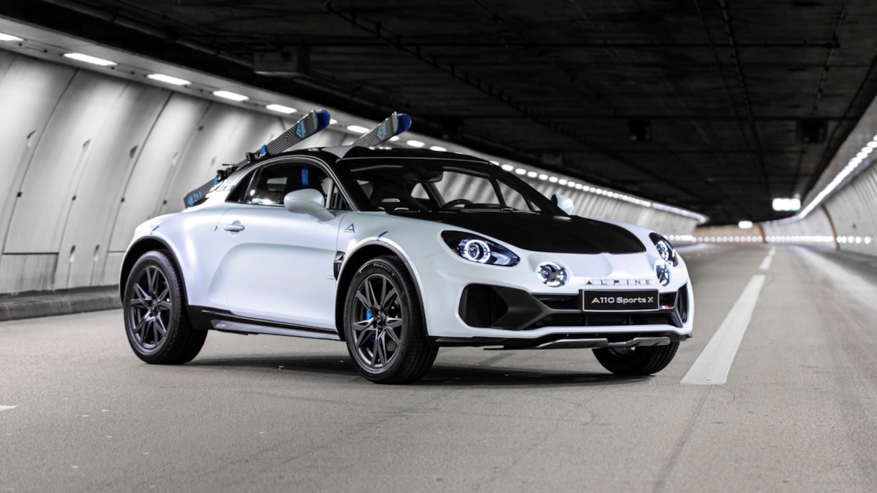 2020 – Show-car Alpine A110 SportsX