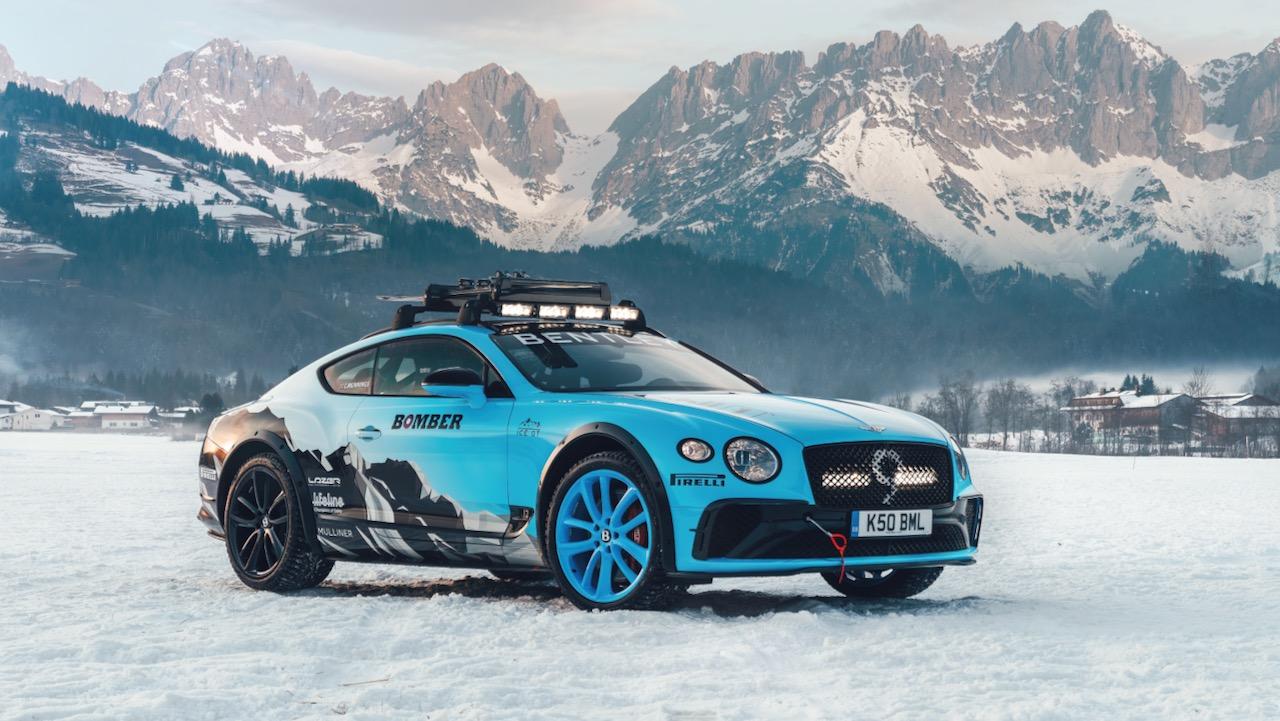 Bentley Continental GT Ice Race – 8