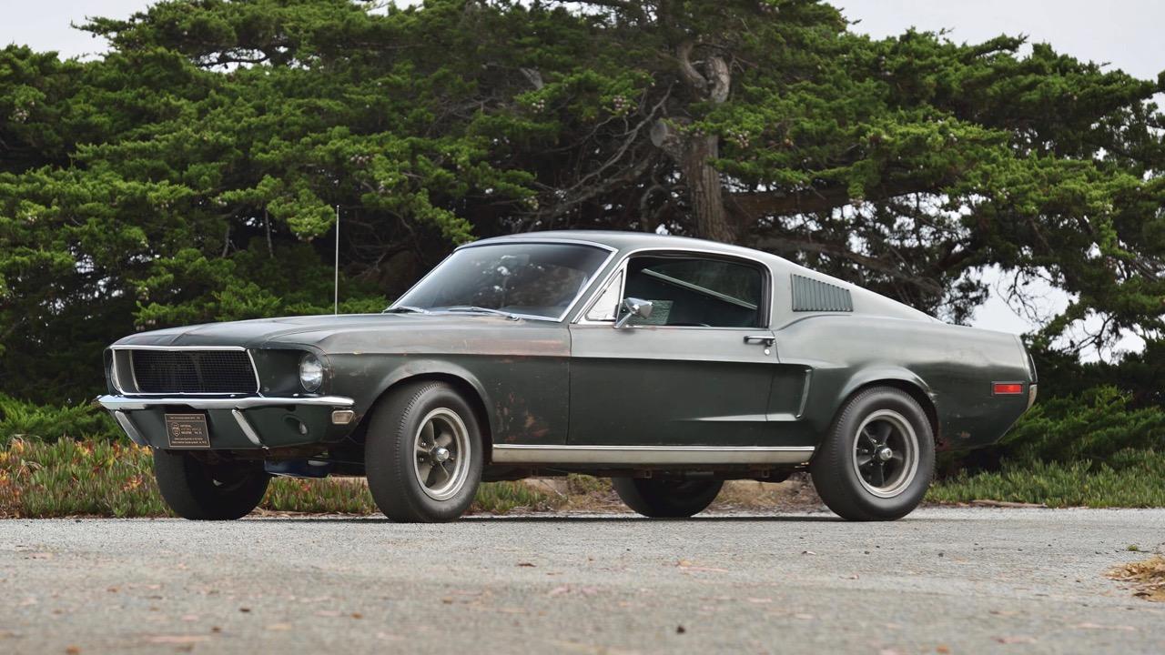 Ford Mustang Bullitt original – 2