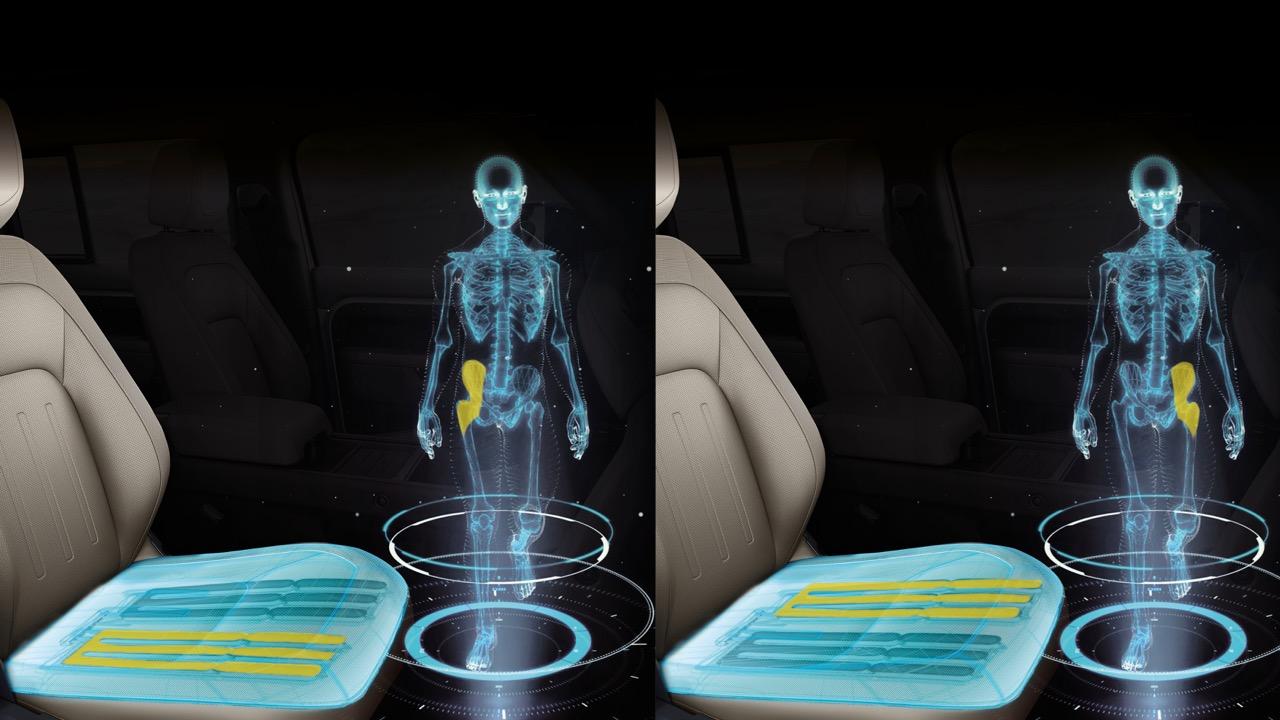 Jaguar Land Rover asientos andando – 1