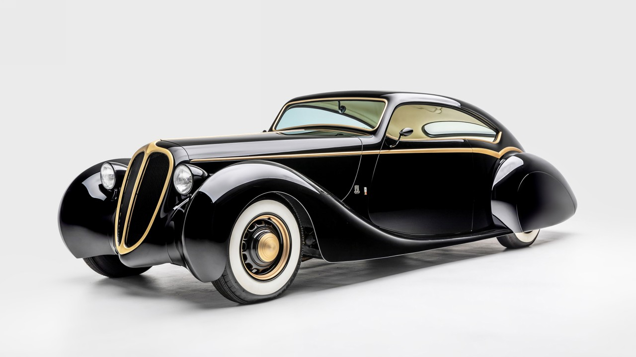 James Hetfield – Metallica – 1948 Jaguar Mk.IV Black Pearl (1)