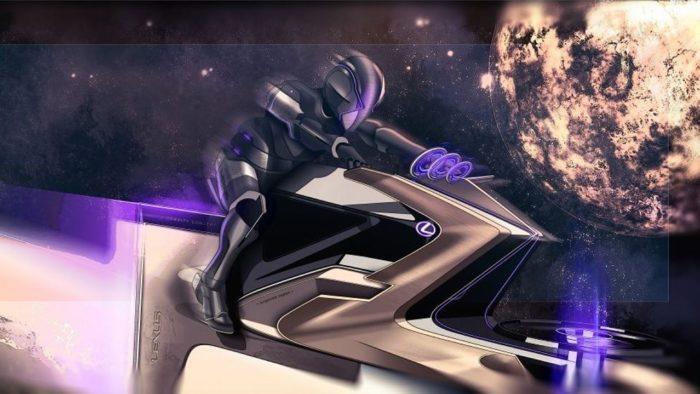 Lexus Zero Gravity (Karl Dujardin)