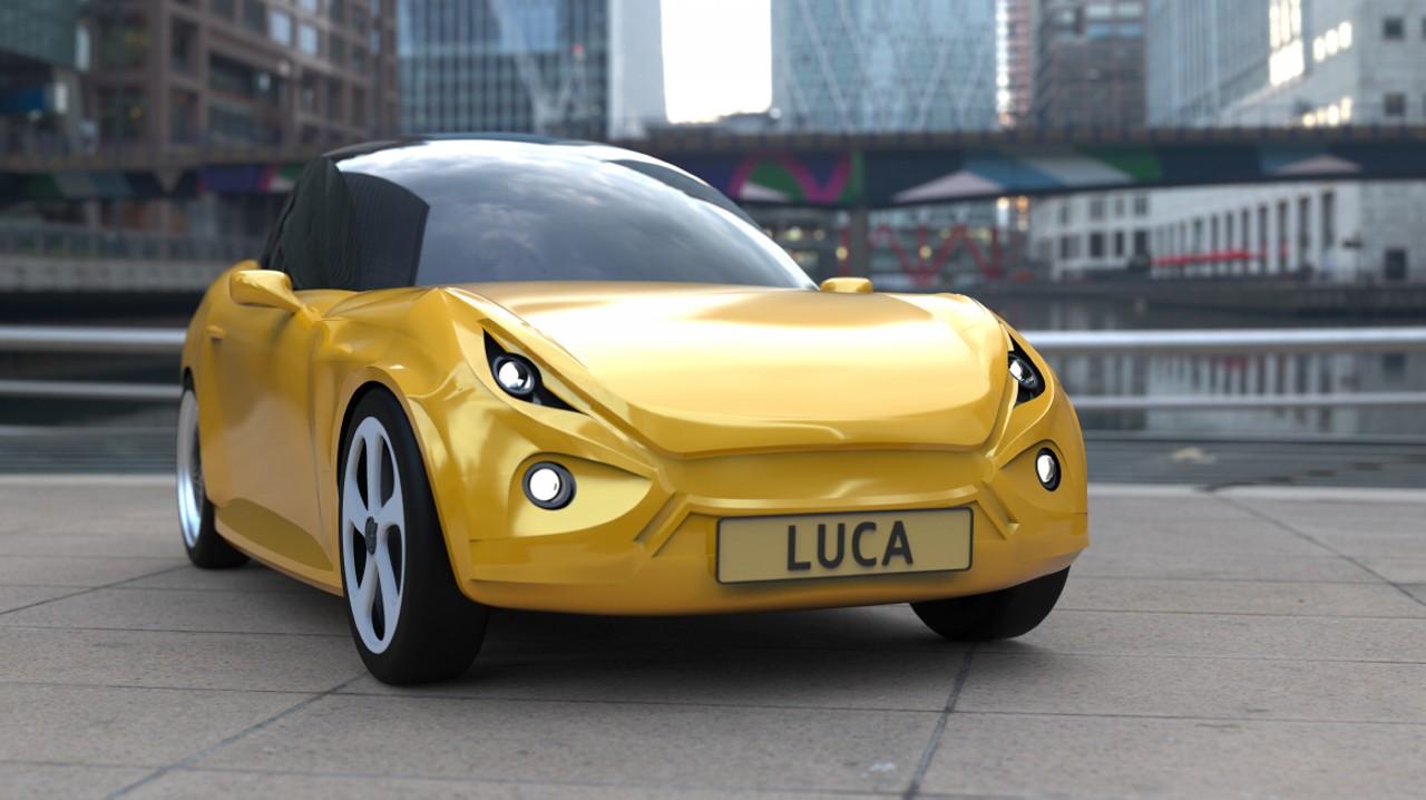 Luca Concept Car – Plastico Reciclado (2)