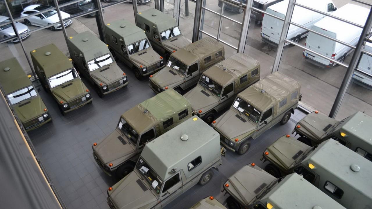 Mercedes-Benz Clase G Puch Militar – Lorinser (1)