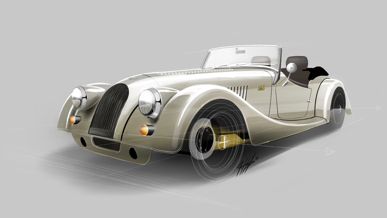 Morgan Plus 4 70th Anniversary Edition – 1