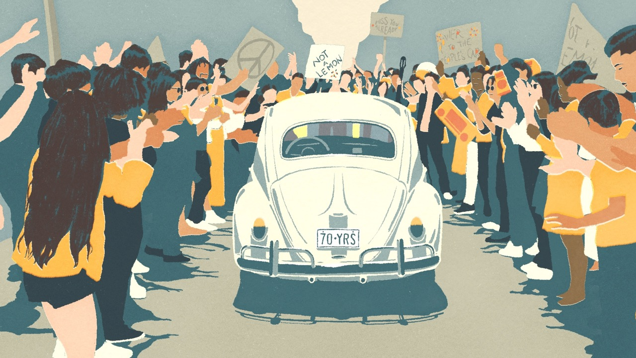 Volkswagen Beetle despedida – 4