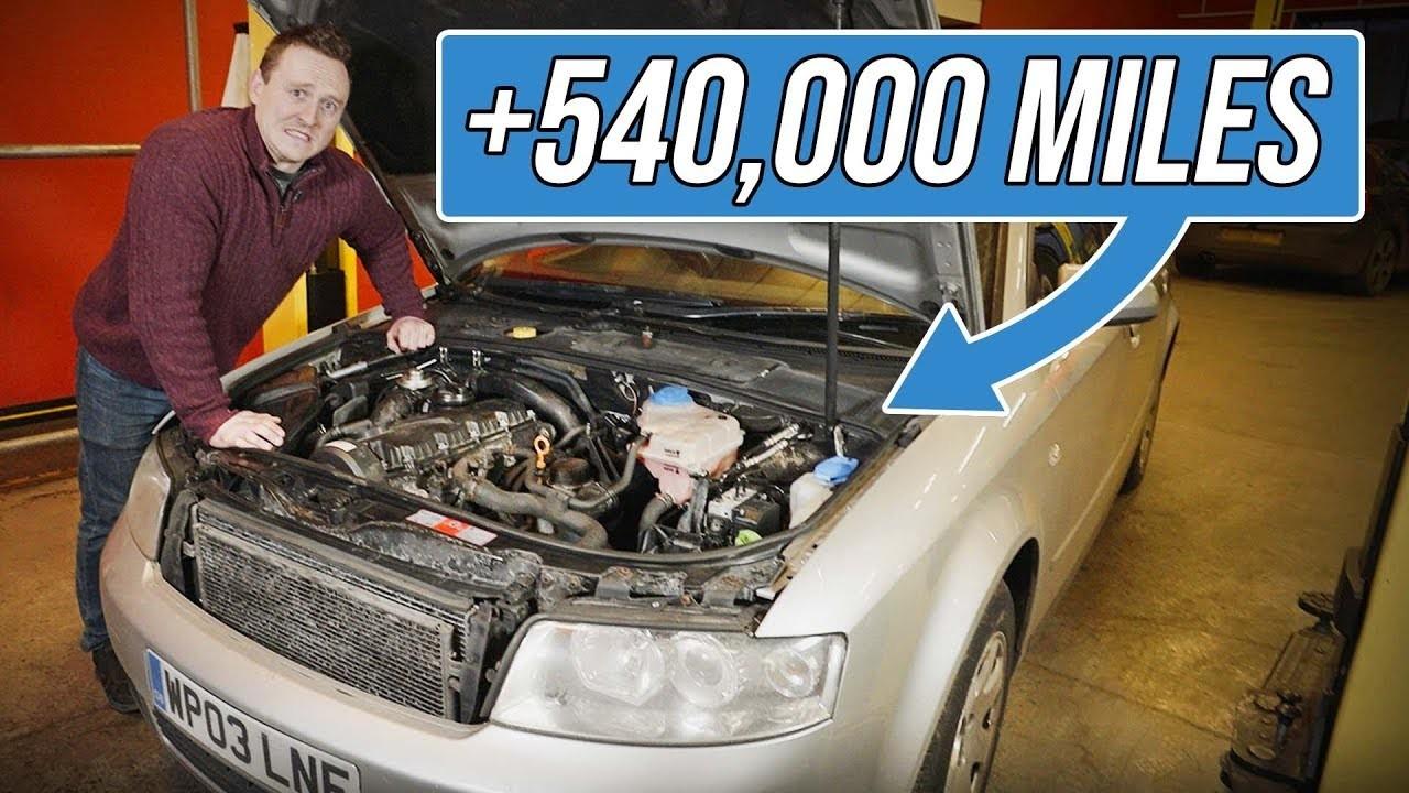 Audi A4 1.9 TDI 870000 km