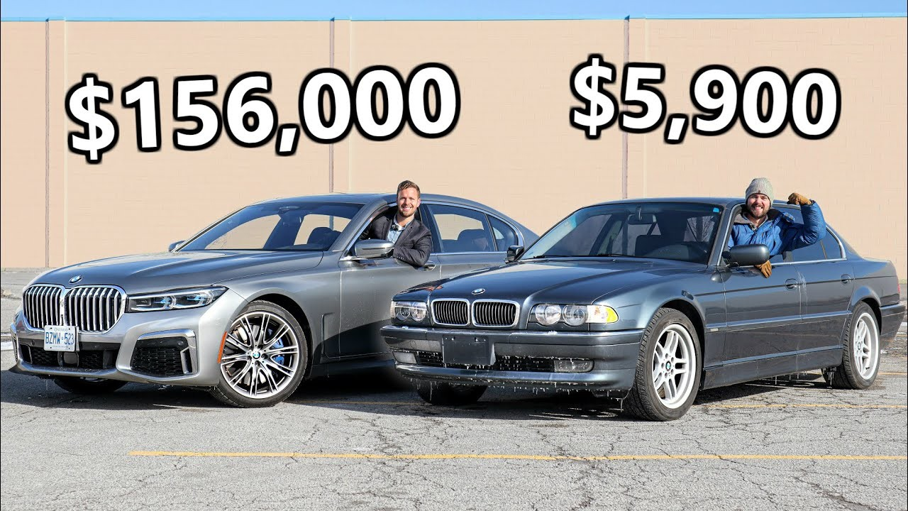 BMW Serie 7 2020 vs BMW Serie 7 2001