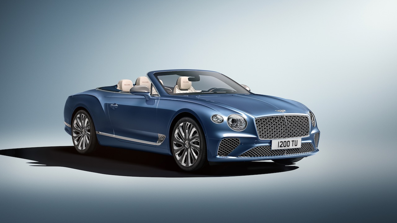 Bentley Continental GT Mulliner Convertible – 5